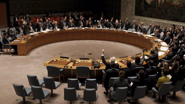 El Consejo de Seguridad de Naciones Unidas durante una sesión en 2016