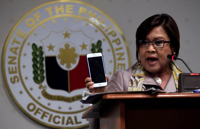 Senadora filipina Leila De Lima