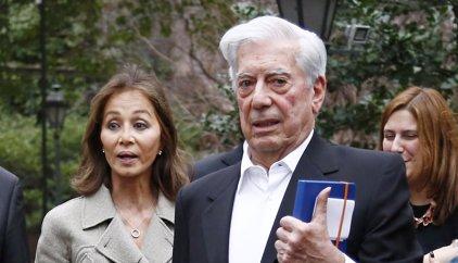 La divertida confusión de Isabel Preysler y Vargas Llosa en su encuentro con el Presidente Macri y su esposa
