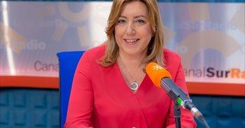 """Susana Díaz rechaza """"debates maniqueos"""" porque en el PSOE todos """"somos..."""