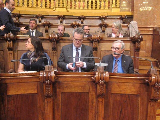 CiU en Barcelona cambia su nombre por Grup Demòcrata