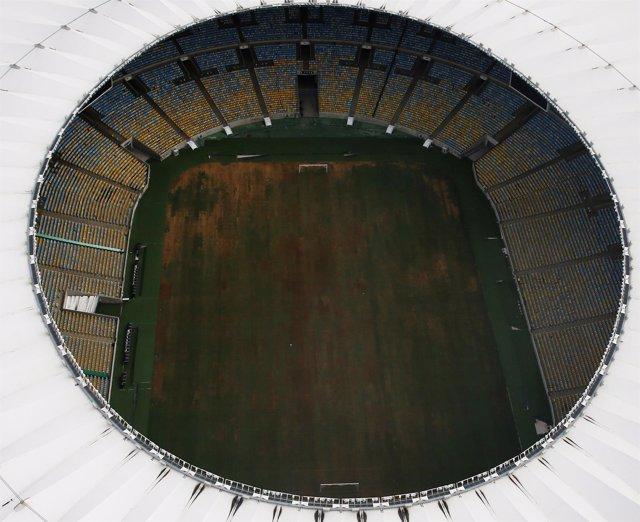 Vista aérea del estadio Maracaná