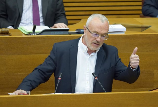 El secretraio general de Podem, Antonio Montiel