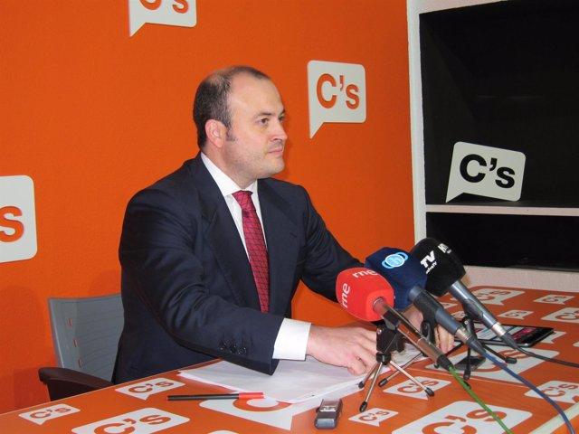 El diputado autonómico de Ciudadanos Julio Díaz.
