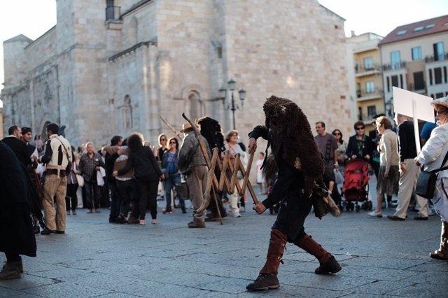 Zamora. Mascaradas de Carnaval