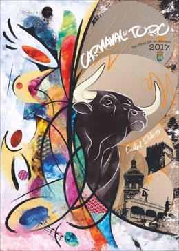 Salamanca. Imagen del cartel promocional del Carnaval del Toro