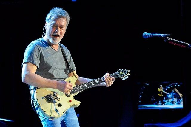 Image #: 39705496    Eddie Van Halen of Van Halen performs in concert at The Cyn