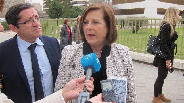 Consejera de Igualdad de la Junta de Andalucía, María José Sánchez Rubio
