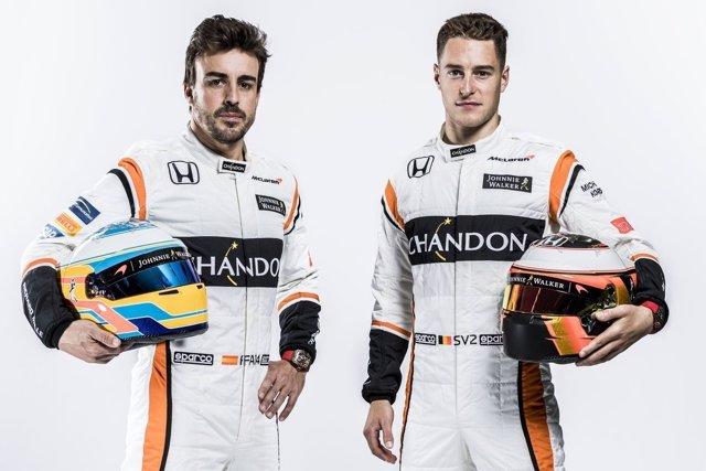 Fernando Alonso y Stoffel Vandoorne (McLaren)