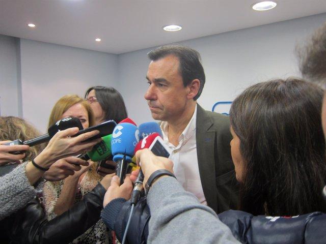 Valladolid, Maíllo atiende a los medios