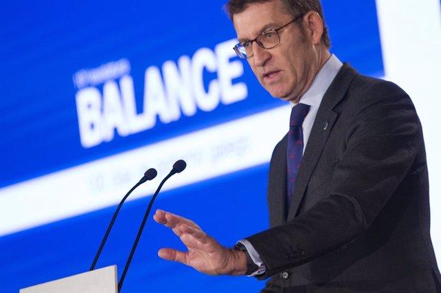 El presidente de la Xunta hace balance.