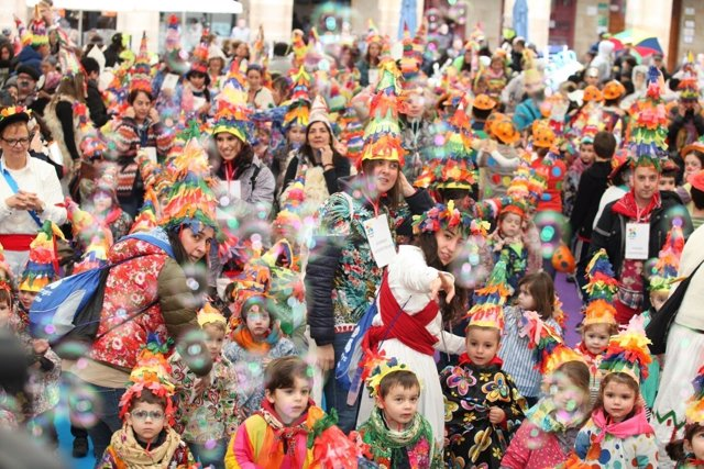 Desfile infantil de Carnaval de Bilbao