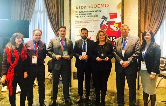 Dos aplicaciones de Diputación de Cádiz premiadas a nivel nacional