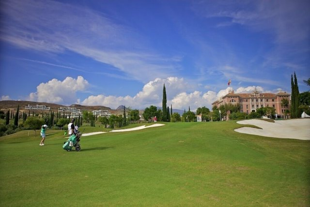 Villa Padierna golf deporte club resort Arranz Flamingos hotel turismo turista