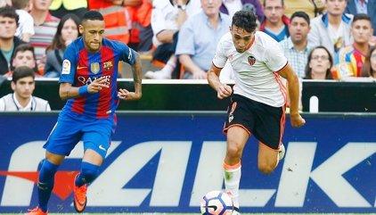 """El Valencia denuncia la """"poca sensibilidad"""" de LaLiga por el duelo ante el Barcelona de la última noche de Fallas"""