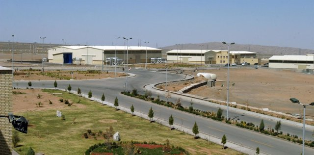 Planta de enriquecimiento de uranio de Natanz (Irán)