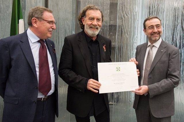 El presidente de Live Nation, Pino Sagliocco, recibe el título de 'Cavaliere'