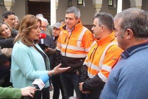 Susana Díaz critica que el Gobierno recurra al