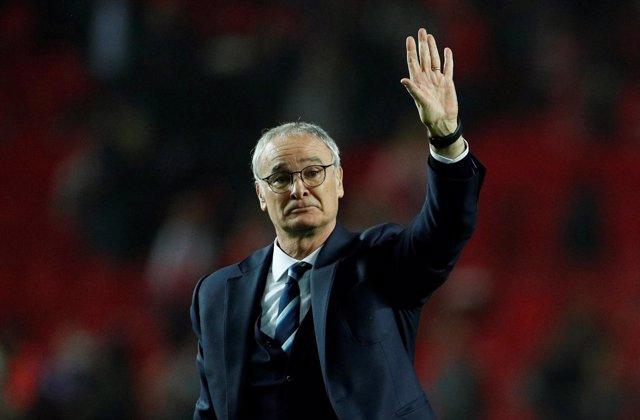 El Ya Ex Técnico Del Leicester City FC Claudio Ranieri