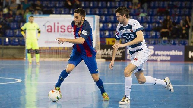 El FC Barcelona empata con Ríos Renovables Zaragoza