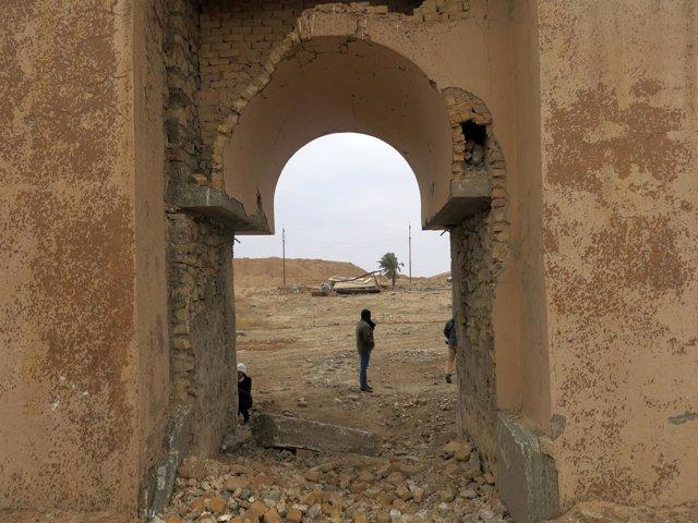 Zona de Nimrud, Irak, recuperada de manos de Estado Islámico