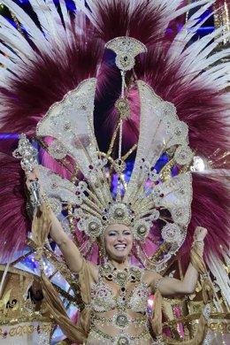 Esther Pérez, Reina del Carnaval de Las Palmas de Gran Canaria