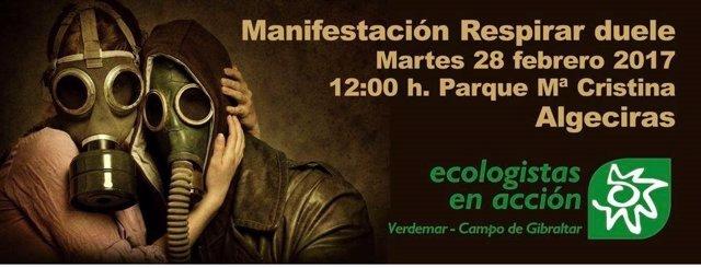 Convocada una manifestación en Algeciras contra la contaminación ambiental