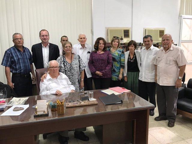 Firma de convenio de Diputación de Huelva con Cuba sobre deporte y cultura