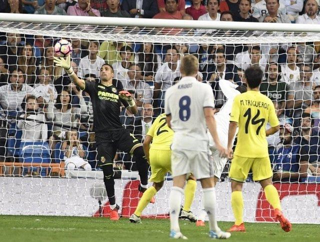 Villarreal Real Madrid Toni Kroos Sergio Asenjo Trigueros