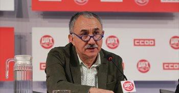 """Álvarez (UGT) afirma que no hay avances en el diálogo social porque """"no..."""