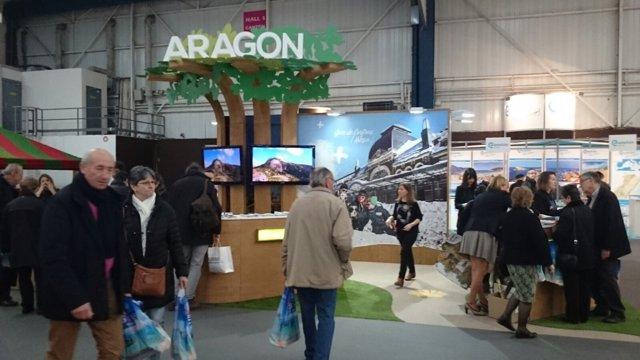 Stand de Aragón en Toulouse.