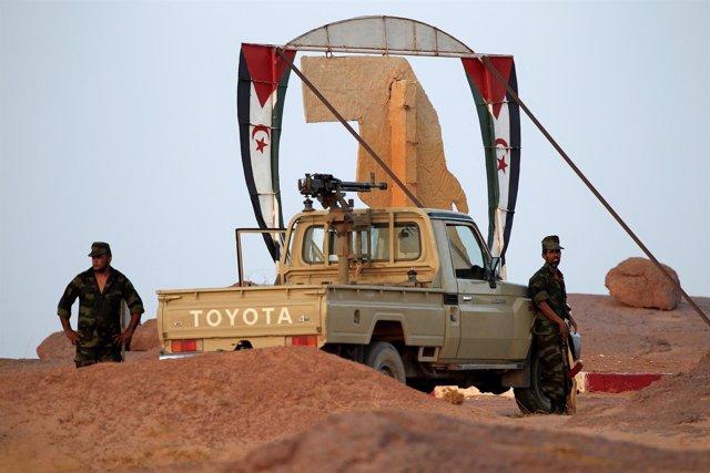 Milicianos del Frente Polisario