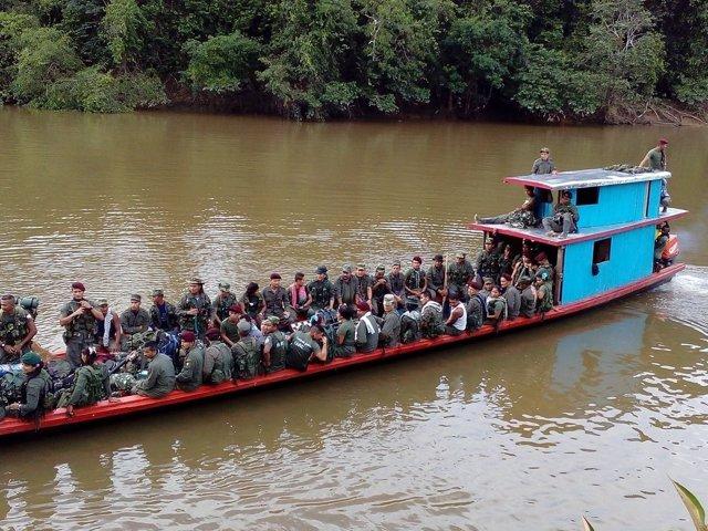 Traslado de las FARC a las zonas veredales