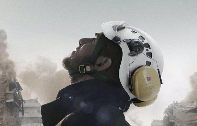 Portada del documental 'The White Helmets'