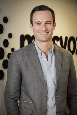 El director general de Masvoz, Alfred Nesweda