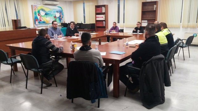 Imagen de la reunión