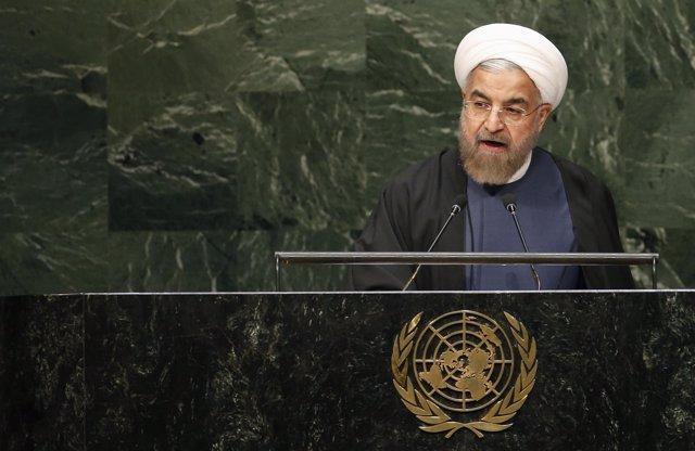 Hasan Rohani en la Asamblea General de la ONU