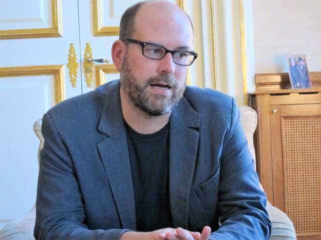 Martiño Noriega, alcalde de Santiago y dirigente de Anova