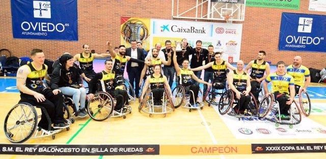 Ilunion campeón Copa del Rey de Baloncesto en Silla de Ruedas