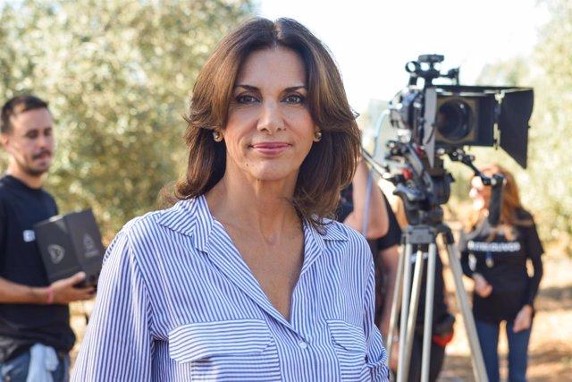 La actriz Pastora Vega
