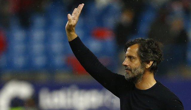 Quique Sánchez Flores en el Atlético de Madrid - Espanyol