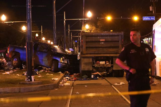 Policía en Nueva Orleans