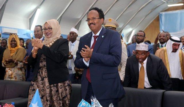 Mohamed Abdullahi 'Farmaajo', presidente de Somalia