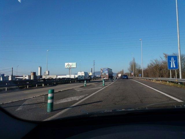 Autopista Y, tráfico, carrateras asturianas