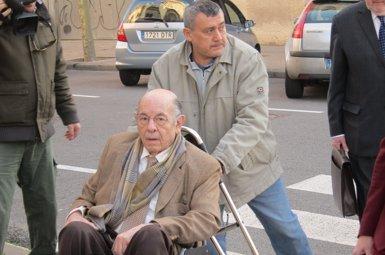 """Millet creu que """"ja era hora"""" que arribés el seu judici encara que assegura estar malament de salut (Europa Press)"""