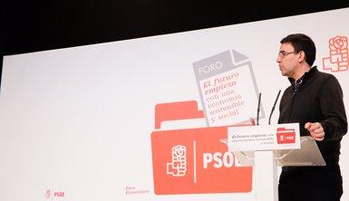 """El PSOE avisa Homs que la llei """"està per complir-la"""" i és """"intolerable"""" invocar """"un altre tipus de legitimitats"""" (PSOE)"""