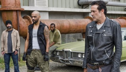 The Walking Dead 7x11: Negan encuentra un inesperado aliado