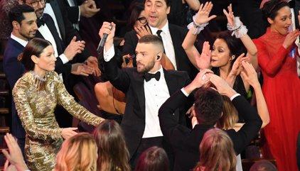 Vídeo: Justin Timberlake abre la gala de los Oscar con la eclosión pop de Can't stop de feeling