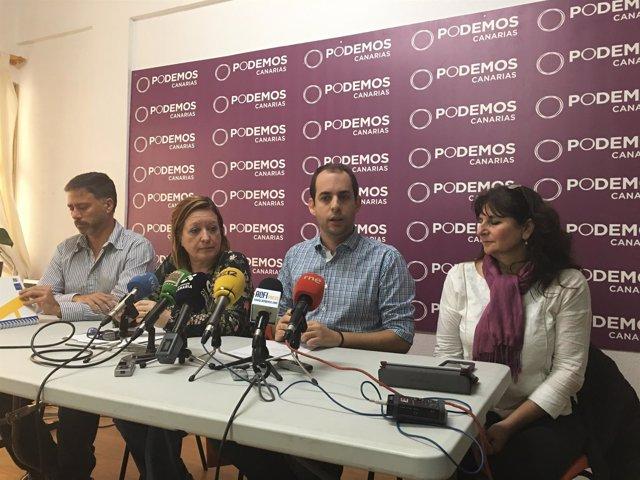 Miguel A.Rodríguez, Conchi Moreno y Miguel Montero