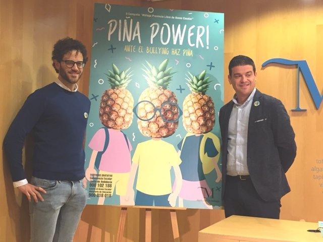 Campaña diputación piña power bullying ortega bosquet